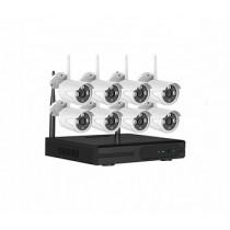 IP Комплект беспроводного WiFi видеонаблюдения PST-WFK08C 3Мп