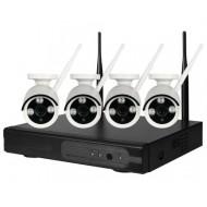 IP Комплект беспроводного видеонаблюдения Tuya PST-TWK04BM 1080P 2 Мп