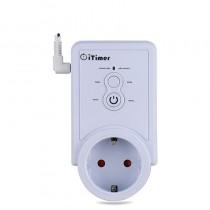 Умная GSM розетка iTimer-II с датчиком температуры